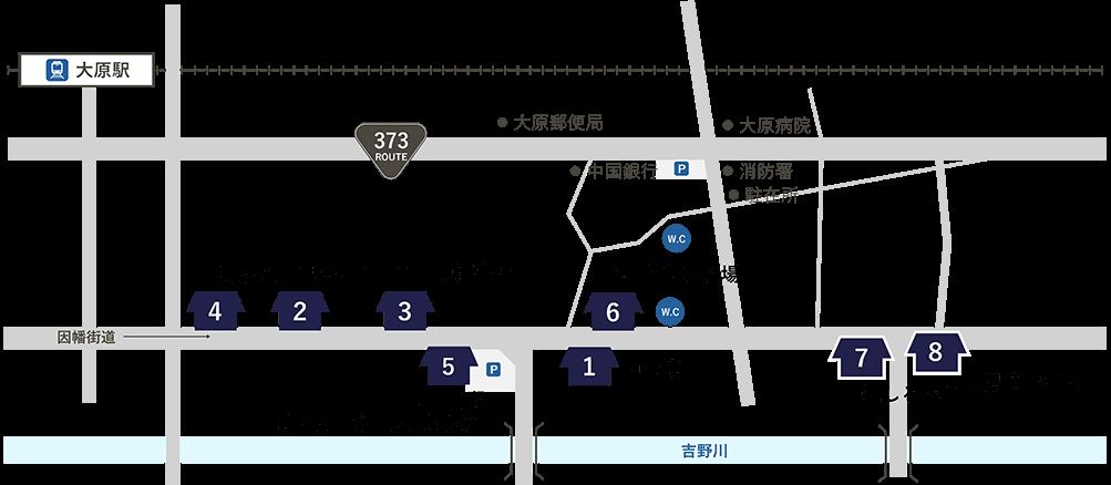 大原宿マップ