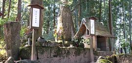 武蔵の墓・武蔵神社
