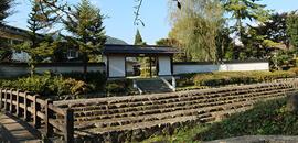 武蔵生家・武蔵生誕地の碑